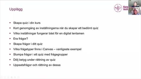Thumbnail for entry Lunchseminarium_ grunderna i Canvas quiz