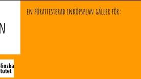Thumbnail for entry FORMULÄR: Förattesterad inköpsplan