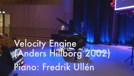 Thumbnail for entry KI Culture and Creativity Day 2018: Fredrik Ullén with Anders Hillborg, Velocity Engine