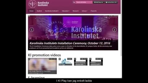 Thumbnail for entry Ladda upp till KI Play