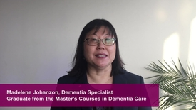 Thumbnail for entry Master's Courses in Dementia Care for Physicicans - Madelene Johanzon (LinkedIn version)