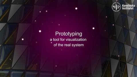 Thumbnail for entry eHealth Prototyping - a tool for visualization of the real system