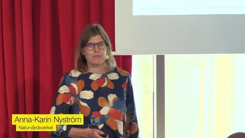 Thumbnail for entry Så når vi klimatmålen - i Sverige och världen. Anna-Karin Nyström, Naturvårdsverket