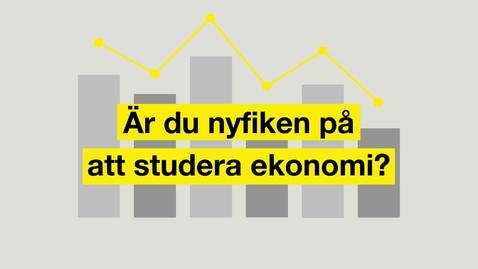 Miniatyr för inlägg Studera ekonomi