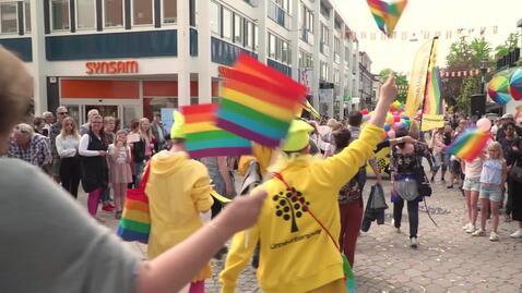 Miniatyr för inlägg Därför deltar Linnéuniversitetet i pride