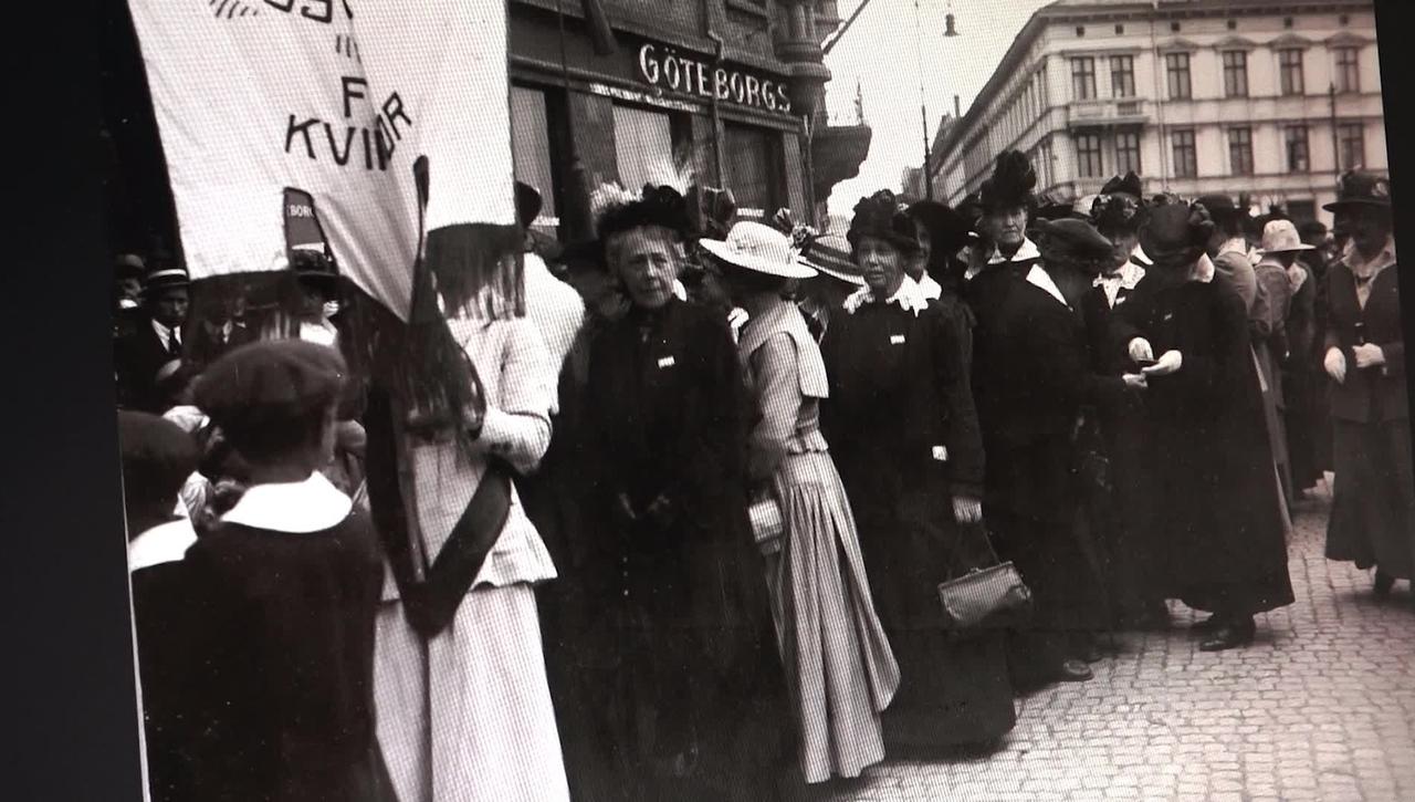 100 år sedan kvinnor fick rösträtt