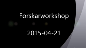 Miniatyrbild för inlägg Forskningsdata – hantering, publicering och upphovsrätt. En inspelning från ett halvdagsseminarium 2015-04-21.