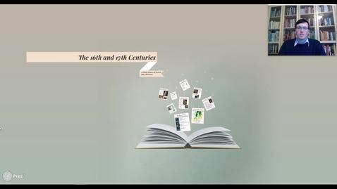 Miniatyrbild för inlägg MOOC - The 16th and 17th Centuries