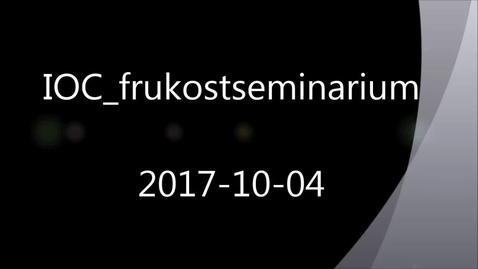 Miniatyrbild för inlägg Framtidens smarta underhåll 2017-10-04