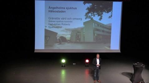 Thumbnail for entry Carl-Johan Robertz - Hälsostaden Ängelholms sjukhus