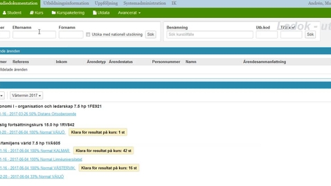 Miniatyrbild för inlägg Rapportera betyg på anonym tentamen i Ladok
