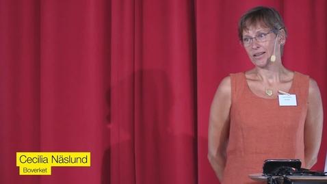 Thumbnail for entry Cecilia Näslund, Boverket - Hur får vi vattnet att räcka? Vattenförsörjning i framtida klimat.
