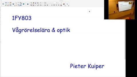 Thumbnail for entry Välkommna till 1FY803