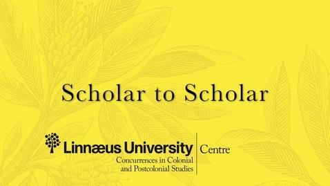 Miniatyr för inlägg Scholar to Scholar interview with Professor Mahesh Rangarajan
