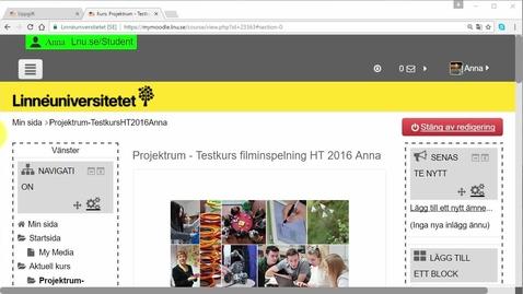 Thumbnail for entry Öppna upp uppgift automatisk i Moodle 3.0