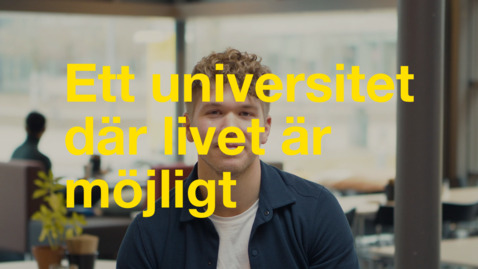 Thumbnail for entry Adam – Gemenskapen på campus