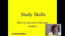Miniatyrbild för inlägg Study skills