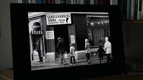Thumbnail for entry Mariah forskar om den pornografiska filmens historiska situation i Sverige