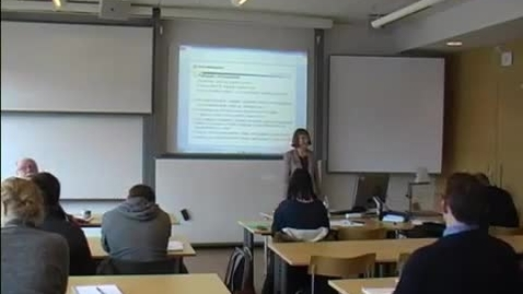 Miniatyrbild för inlägg Polis-och preventionsforskning i Norden, del 2, 2014-06-02