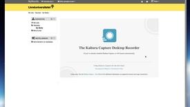 Miniatyrbild för inlägg Kaltura Capture - Installera på Mac