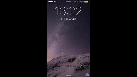 Miniatyrbild för inlägg Spela in film via din mobil och skicka till LnuPlay