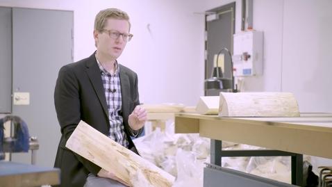 Miniatyr för inlägg Jimmy forskar om produktionssystem inom träindustrin