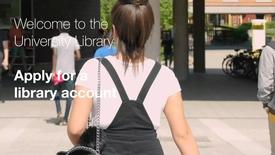 Miniatyrbild för inlägg Apply for a library account