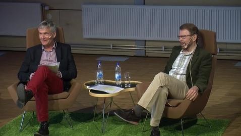 Thumbnail for entry Om möjligheter och utmaningar för kulturentreprenörskap - ett samtal mellan Björn Ulvaeus och Lars Lindkvist