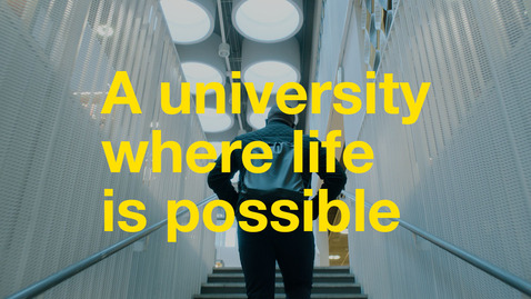 Thumbnail for entry A university where life is possible