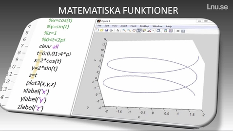 Thumbnail for entry Matlabs matematiska elementära funktioner