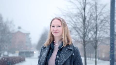 Miniatyr för inlägg Fredrika läser Statsvetarprogrammet