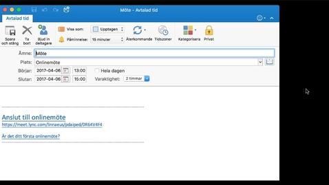 Miniatyrbild för inlägg Skype för företag - Webbklient för Mac