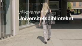 Miniatyrbild för inlägg Välkommen till universitetsbiblioteket