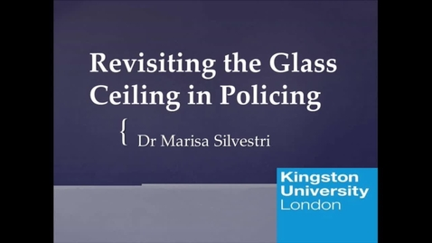 Miniatyrbild för inlägg Revisiting the Glass Ceiling in Policing
