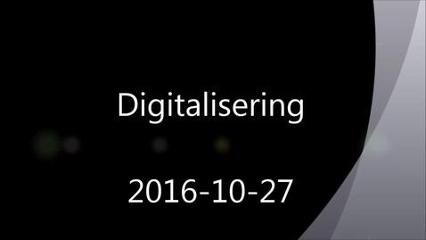 Miniatyrbild för inlägg Digitalisering inom svensk industri
