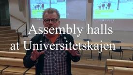 Miniatyrbild för inlägg Assembly halls - en