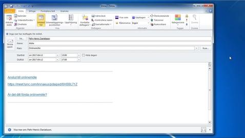 Miniatyrbild för inlägg Skype för företag - Webbklient för PC