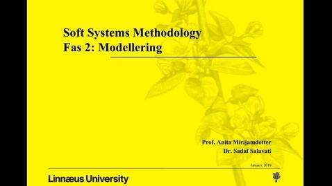 Miniatyrbild för inlägg Soft Systems Methodology - fas 2: modellering