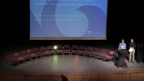 Miniatyrbild för inlägg Karin Fröjd, Amira Donlagic - Mobil närvård i Västra Götaland