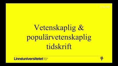 Vetenskaplig och populärvetenskaplig tidskrift - LnuPlay - Linnaeus ... 4d5407dcac80f