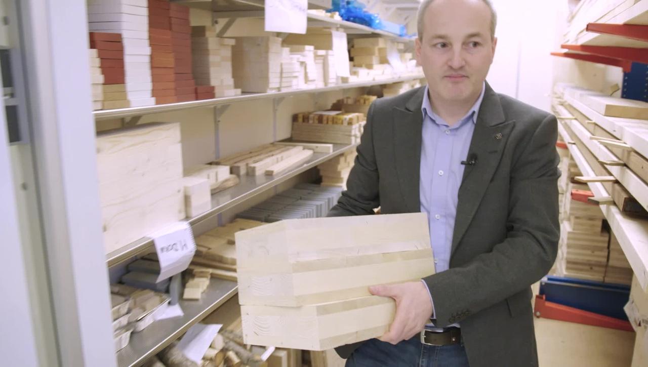 Thomas forskar om förband inom träindustrin