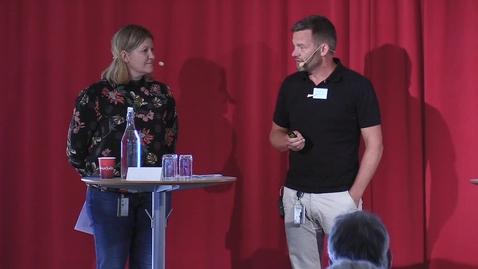 Thumbnail for entry Carina Pålsson och Henrik Andersson - Samhällsnyttiga ekosystemtjänster.