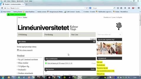 Thumbnail for entry Urkund student inlämningsuppgift