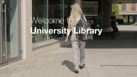 Miniatyrbild för inlägg Welcome to the University Library