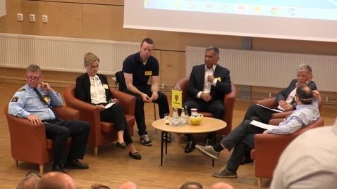 Miniatyrbild för inlägg Ledarskap inom polisen - Forskare möter praktiker. Panel förmiddag
