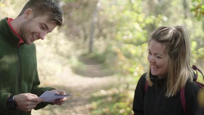 Elin och Axel läser till ämneslärare i idrott och hälsa