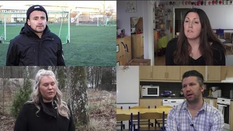 Thumbnail for entry Studenter berättar om sina utvecklingsinriktade examensarbeten