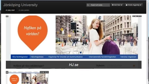 Thumbnail for entry Installera Kaltura Capture Space Desktop Recorder till JU play