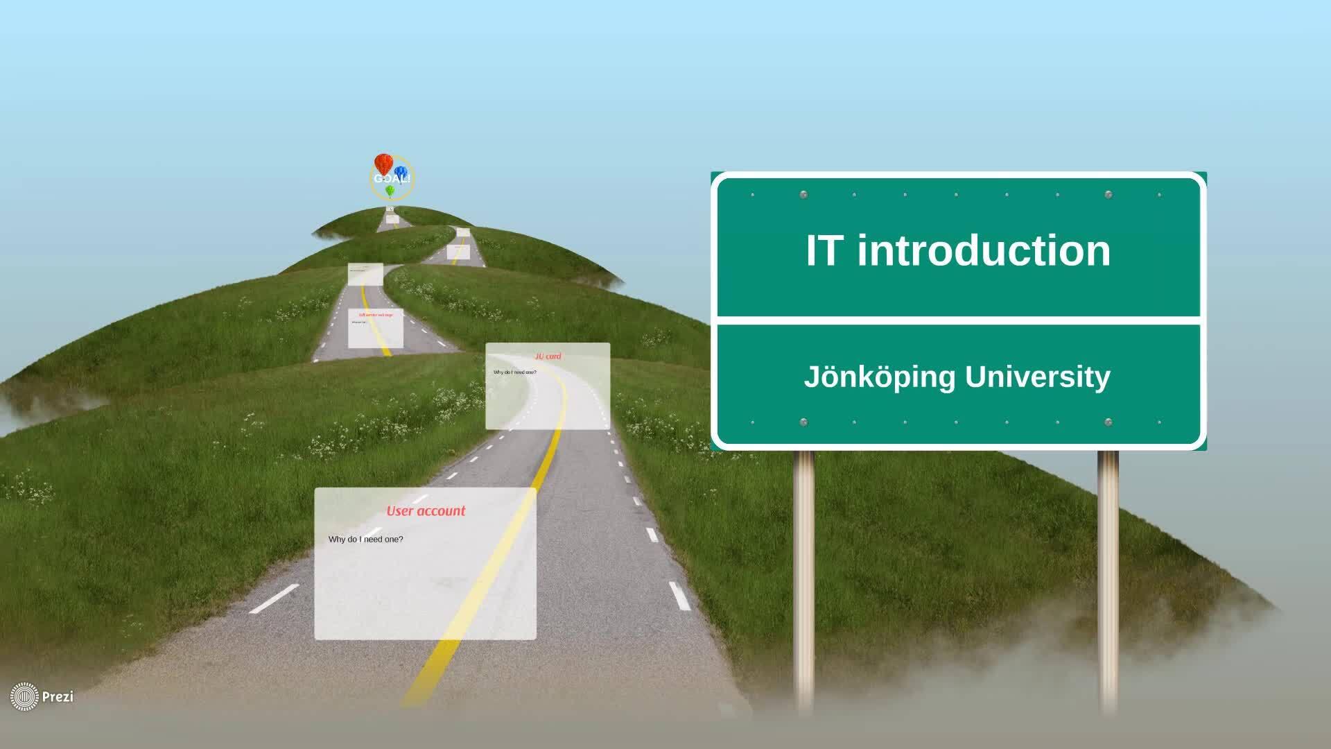 IT introduction - 2019 - JU play - Jönköping University
