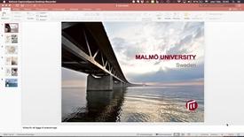 Thumbnail for entry Ladda upp presentation